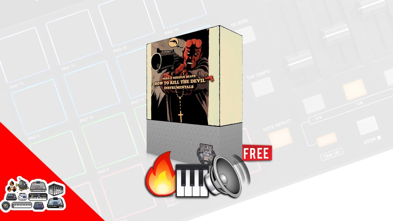 FREE Drum Kit & Sample Pack – How To Kill Devil DrumKit