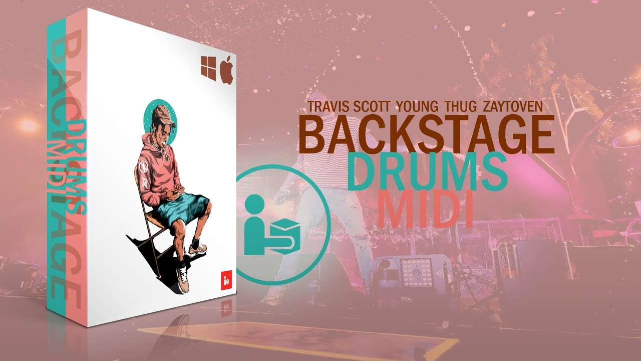 Backstage MIDI Melodies + Drums Bundle | SAMPLE GANG