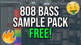 808 bass samples and midi collection free trap and future bass 808s.